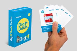 Dig1t Metrics - Card Game