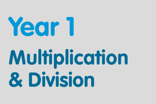 Year 1 activities for practising: Multiplication & Division