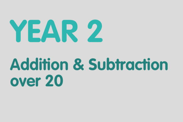 Year 2 activities for practising: Addition & Subtraction over 20