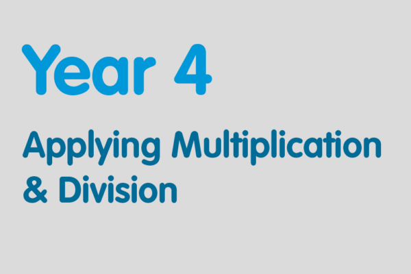Year 4 activities for practising: Applying Multiplication & Division