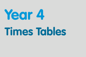Year 4 activities for practising: Times Tables