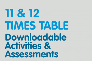 11,12 times tables